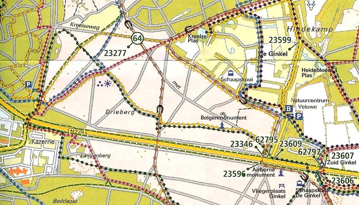 duitsers in nederland kaart