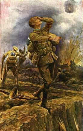 Ansichtkaarten Uit De Eerste Wereldoorlog