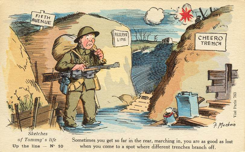 Picture Postcards Of The First World War Soldiers Humour