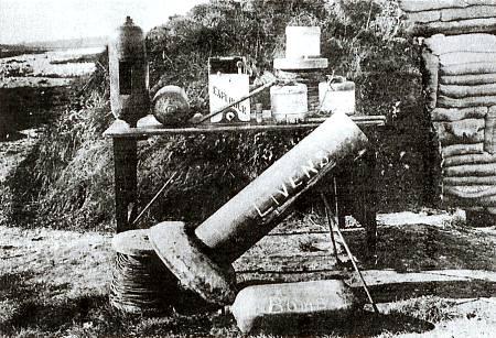Image result for British Livens mortar